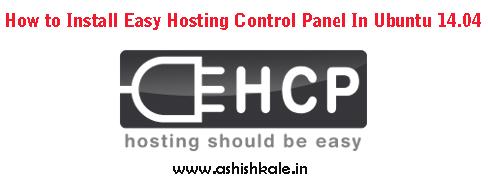 Install Easy Hosting Control Panel - Web Hosting Stuff