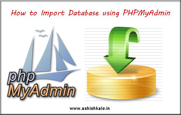 Import Deatabase