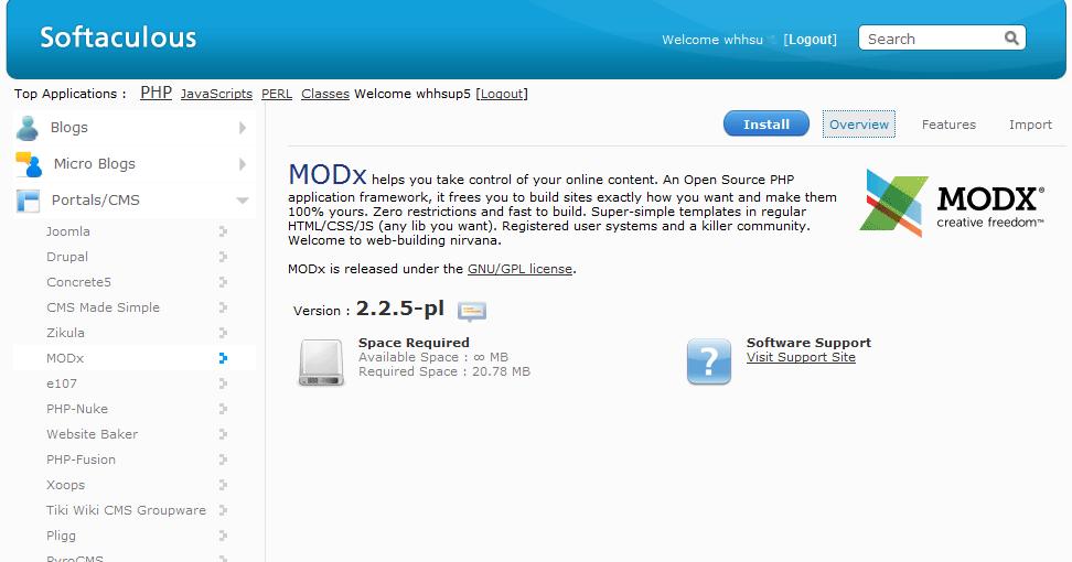 modx-install