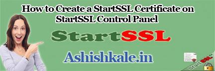 Create a StartSSL Certificate