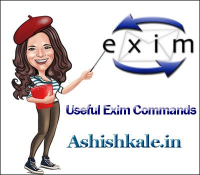 Useful Exim Commands